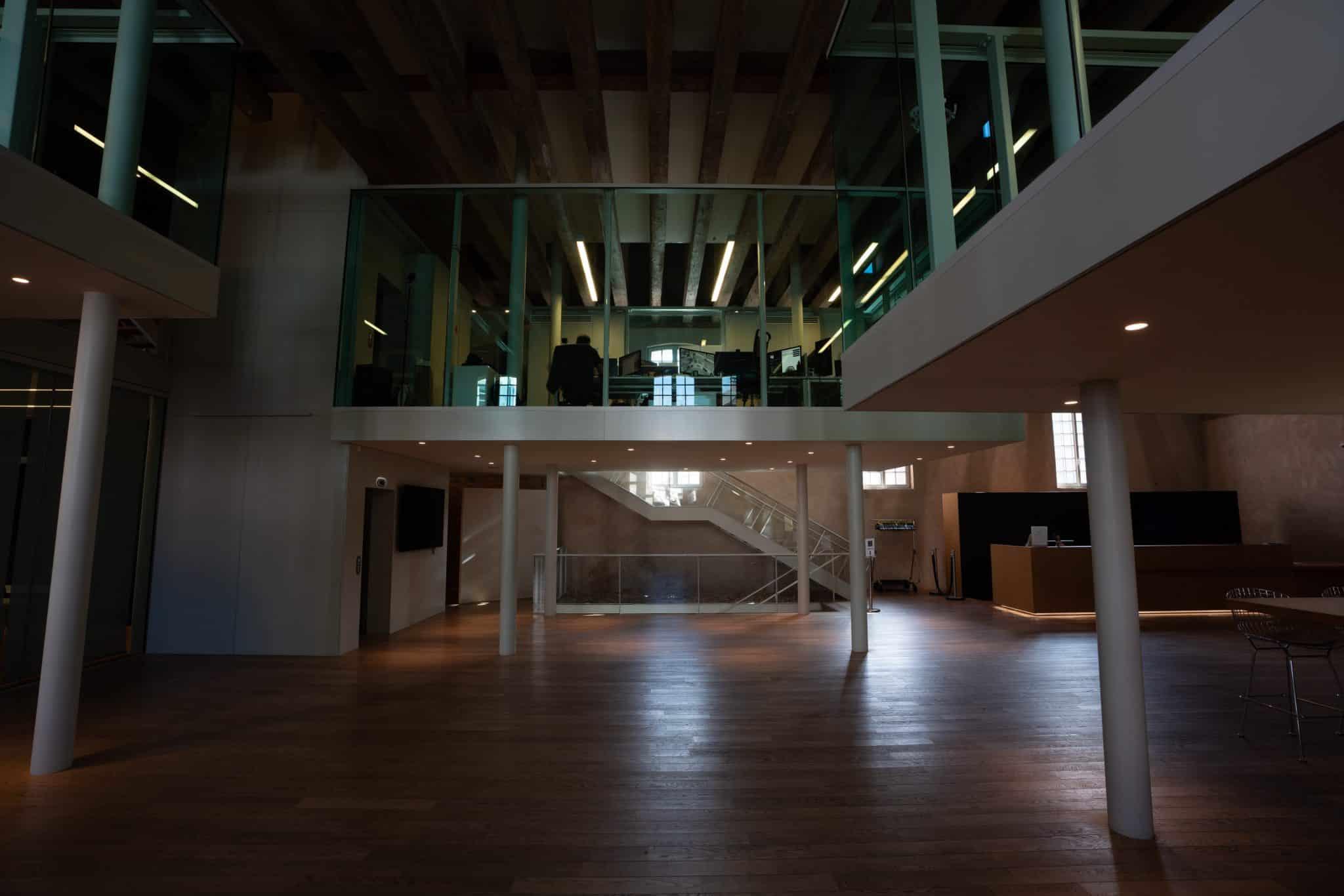 Hall du Biocluster à Strasbourg en Alsace - Michael Bouton - Photographe Architecture