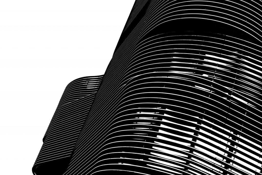 Courbes du Pavillon 52 à Lyon (Rudy Ricciotti) - Photographe Architecture - Michael Bouton - edifice-photo.com - Artchitecture