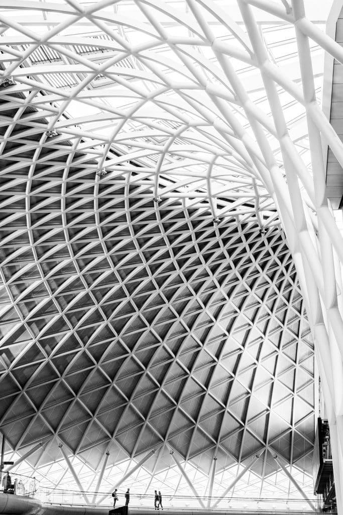 King's Cross Station à Londres (John McAslan + Partners) I - Photographe Architecture - Michael Bouton - edifice-photo.com - Artchitecture