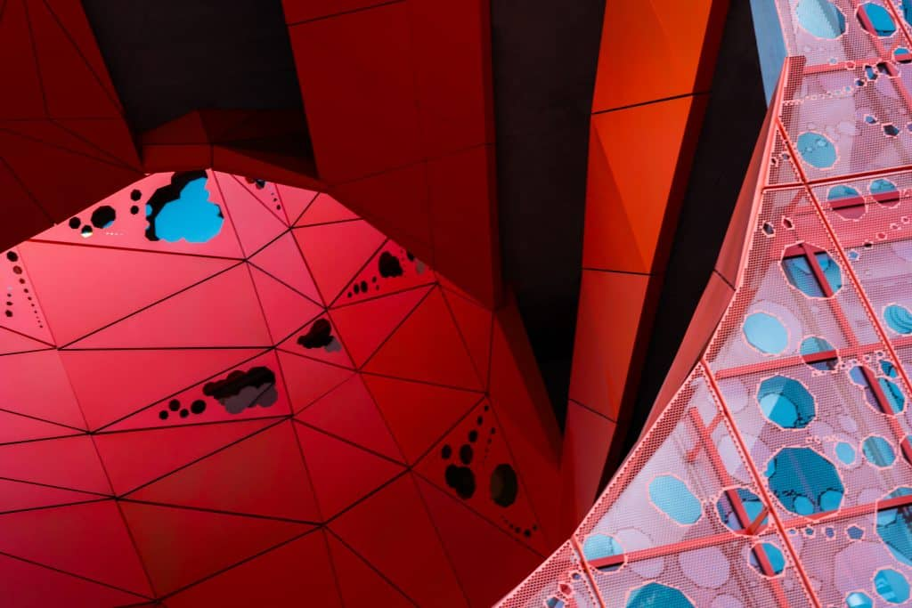 Le Cube Orange à Lyon (JAKOB + MACFARLANE) - Photographe Architecture - Michael Bouton - edifice-photo.com - Artchitecture