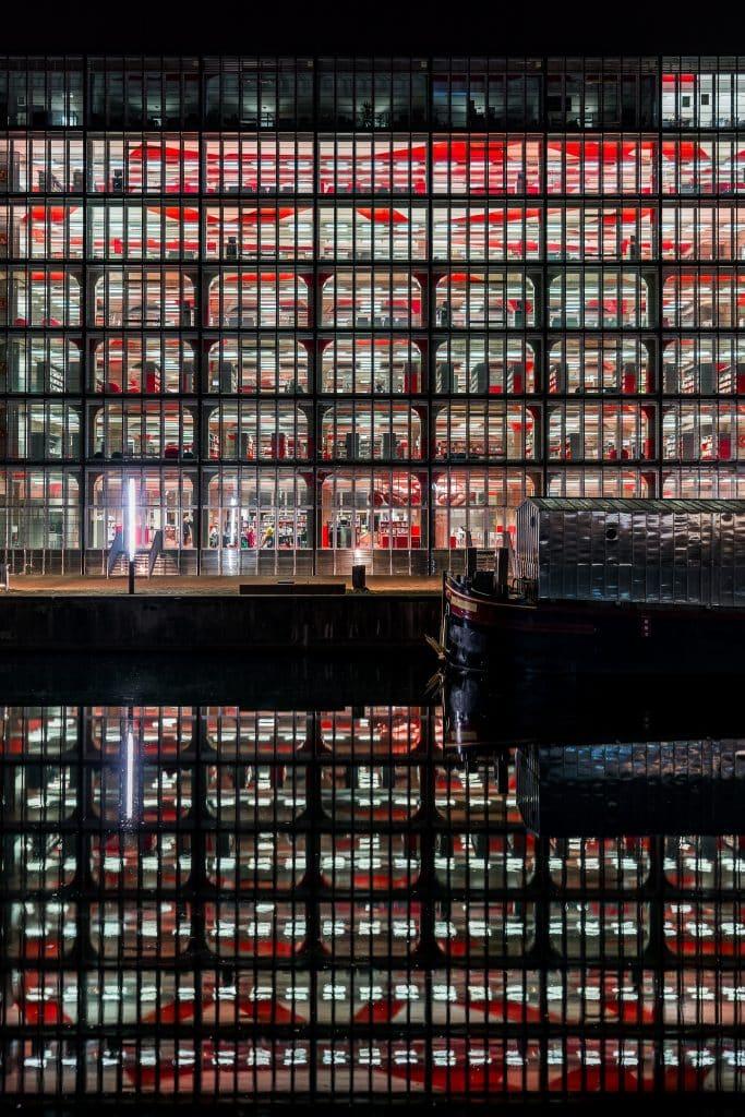 Médiathèque André-Malraux à Strasbourg (Jean-Marc Ibos et Myrto Vitart) I - Photographe Architecture - Michael Bouton - edifice-photo.com - Artchitecture