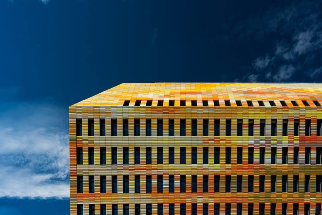 centre de recherche en biomédecine de Stasbourg (DEA Architectes) - Photographe Architecture - Michael Bouton - edifice-photo.com - Artchitecture