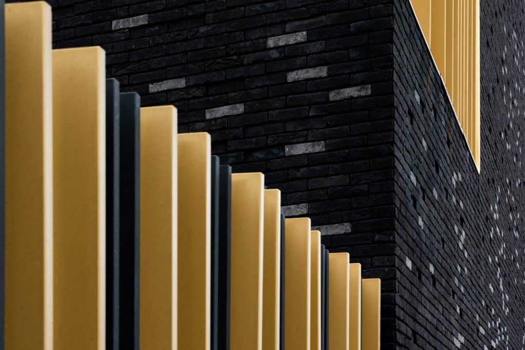 Détails du Conservatoir de Musique et de Danse de Melun (DE-SO Architectes) - Photographe Architecture - Michael Bouton - edifice-photo.com