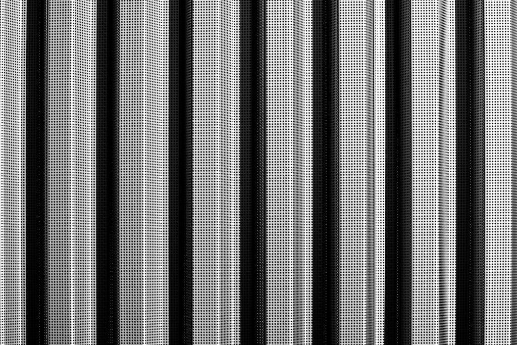 Grille perforée - Photographe Architecture - Michael Bouton - edifice-photo.com