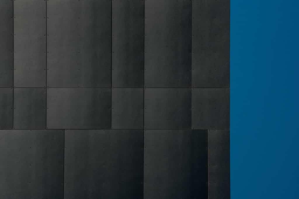 Panneaux de la façade de l'immeuble W à Strasbourg - Photographe Architecture - Michael Bouton
