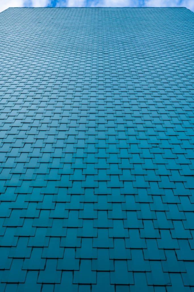 Panneaux de la façade d'un immeuble de Mulhouse - Photographe Architecture - Michael Bouton