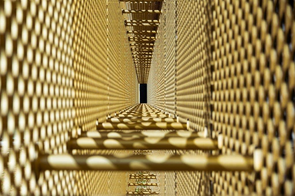 Structure alvéolée du Gran Casino Basel en Suisse - Photographe Architecture - Michael Bouton