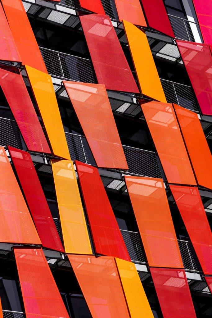 bardage métallique du 101 Republique à la Madeleine (Fabrice Dusapin) - Photographe Architecture - Michael Bouton - edifice-photo.com