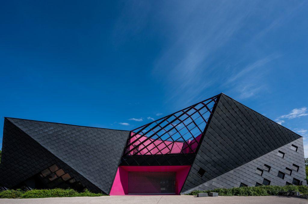 """Centre Socioculturel """"L'Origamie"""" à Mulhouse en Alsace (Architectes : Paul le Quernec) - Michael BOUTON - Photographe Architecture"""