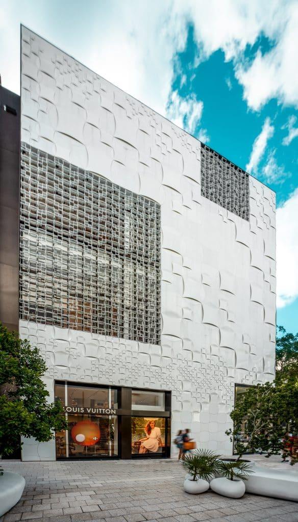 Boutique Louis Vuitton du Design District à Miami en Floride (Architectes : Jun Aoki and Mirei Uchibe) - Michael BOUTON - Photographe Architecture