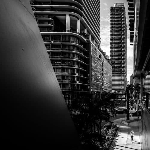 Logement du Birckell Flatiron à Miami en Floride (Architectes : Luis Revuelta) - Michael BOUTON - Photographe Architecture