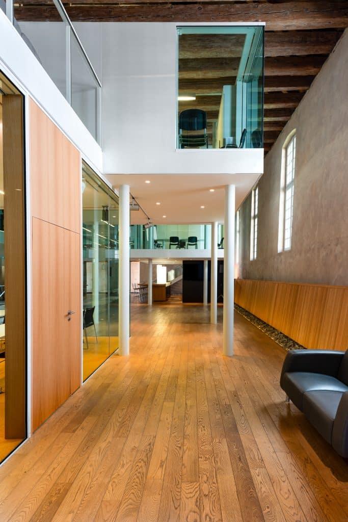 Bureaux dans le Biocluster à Strasbourg en Alsace (Architectes : Denu & Paradon) - Michael BOUTON )- Photographe Architecture