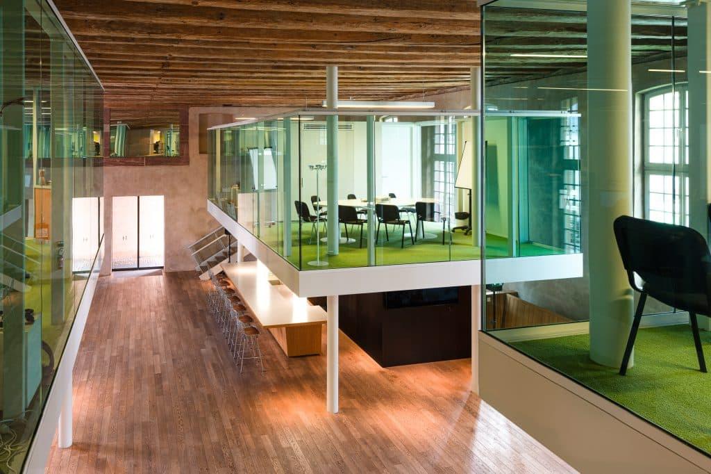 Salle de réunion du Biocluster à Strasbourg en Alsace (Architectes : Denu & Paradon) - Michael BOUTON )- Photographe Architecture