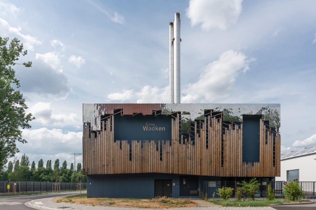 Chaufferie du Wacken à Strasbourg en Alsace (Architectes : Braesch & Bottazzi Architectes) - Michael Bouton - Photographe Architecture