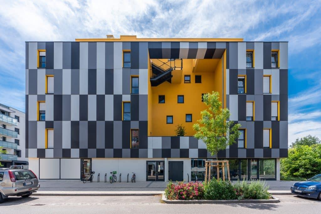 """Bureau """"Harmonéa"""" à Strasbourg en Alsace (Architectes : Patrick Schweitzer) - Michael BOUTON - Photographe Architecture"""