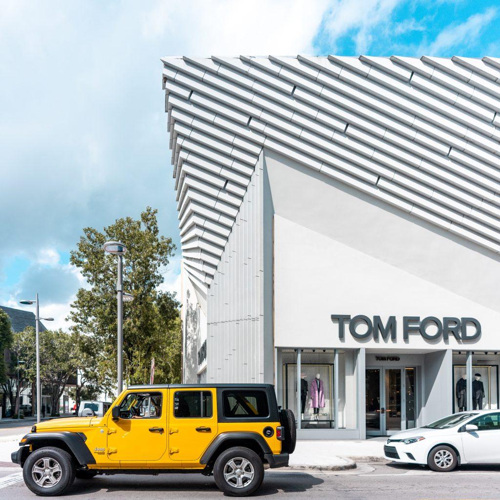 Boutique Tom Ford du Design District à Miami en Floride (Architectes : Aranda Lasch) - Michael BOUTON - Photographe Architecture