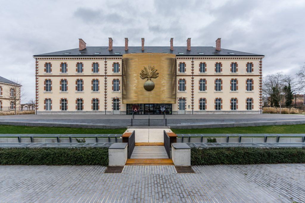 Musée de la gendarmerie Nationale à Melun, près de Paris en Ile-de-France (Architectes : Moatti – Rivière) - Michael Bouton - Photographe Architecture