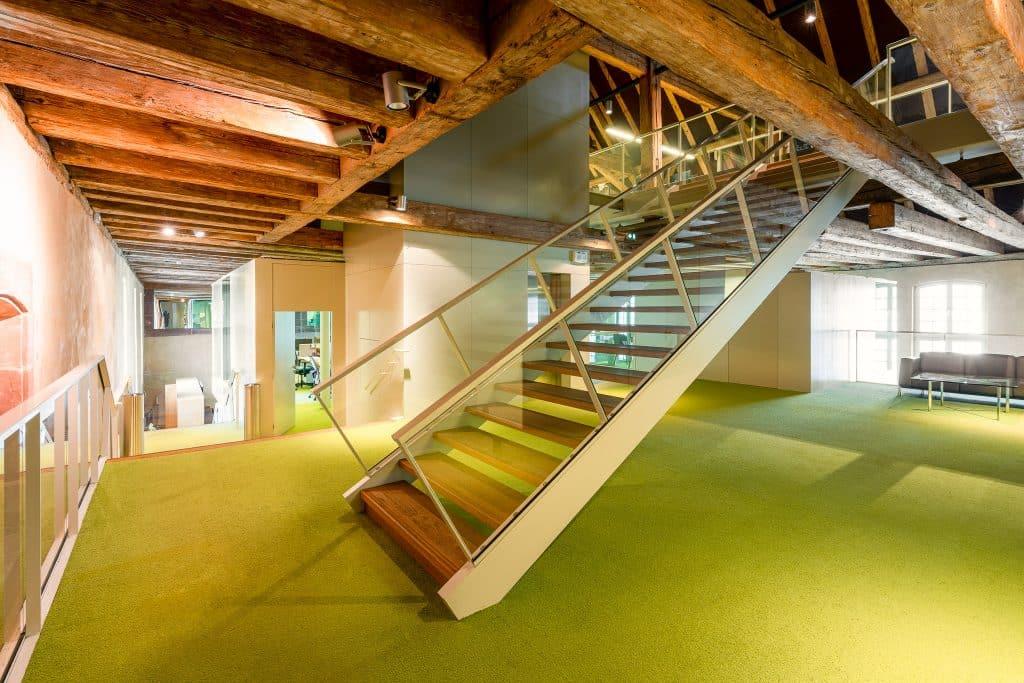 Espace de co-working du Biocluster à Strasbourg en Alsace (Architectes : Denu & Paradon) - Michael BOUTON )- Photographe Architecture