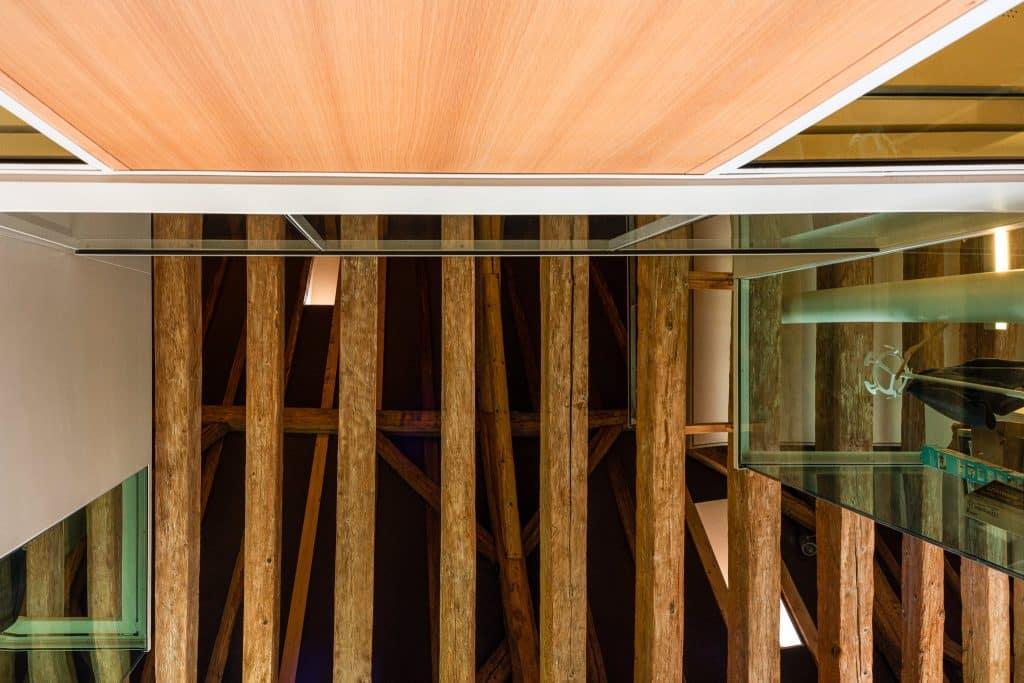 Hall de réception du Biocluster à Strasbourg en Alsace (Architectes : Denu & Paradon) - Michael BOUTON )- Photographe Architecture