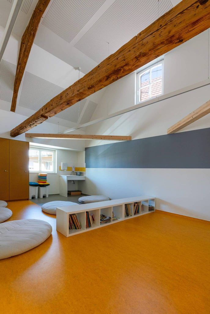 Photographe Architecture Alsace Renovation espace cosy coin lecture