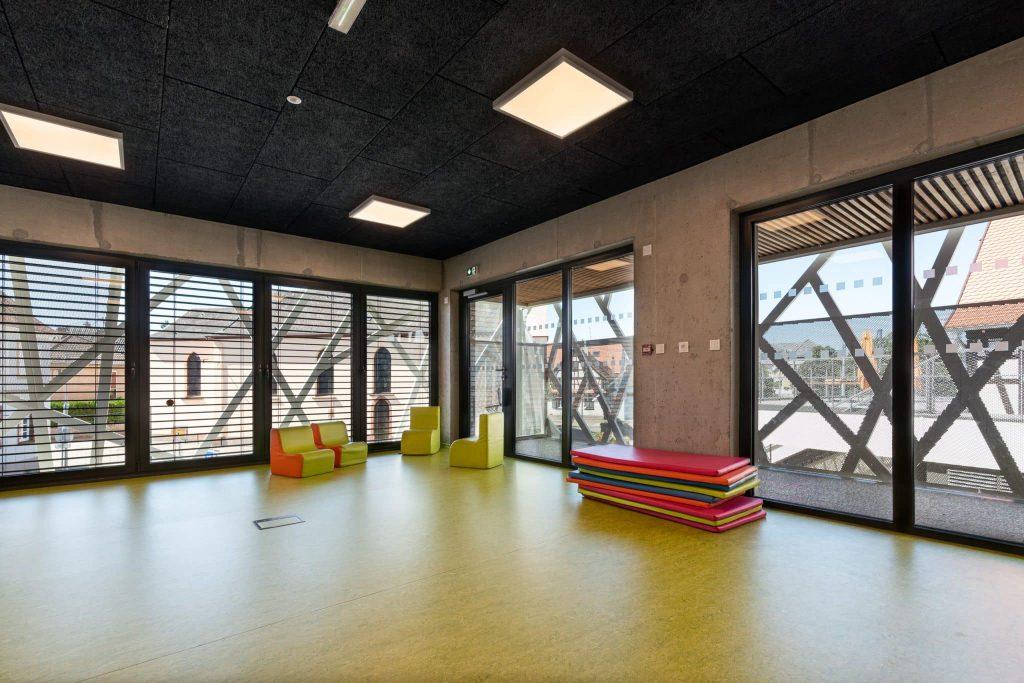 Photographe Architecture Alsace Renovation salle de jeu