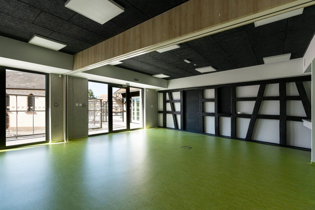 Photographe Architecture Alsace Renovation salle modulable ecole
