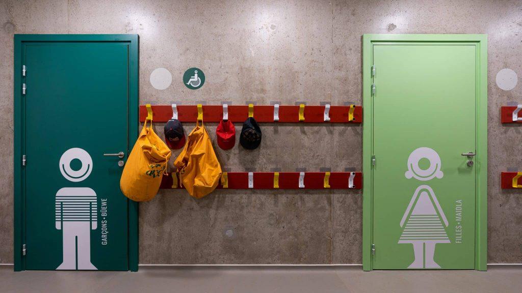 Photographe Architecture Alsace Renovation espaces sanitaires enfants