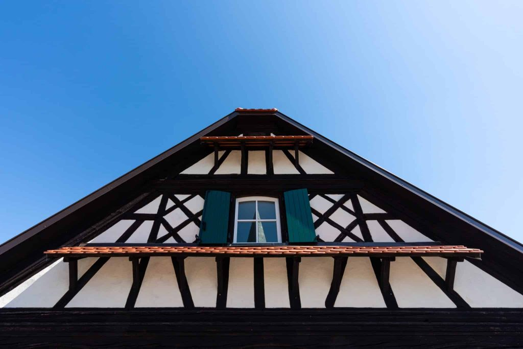 Photographe Architecture Alsace Renovation - facade traditionnelle