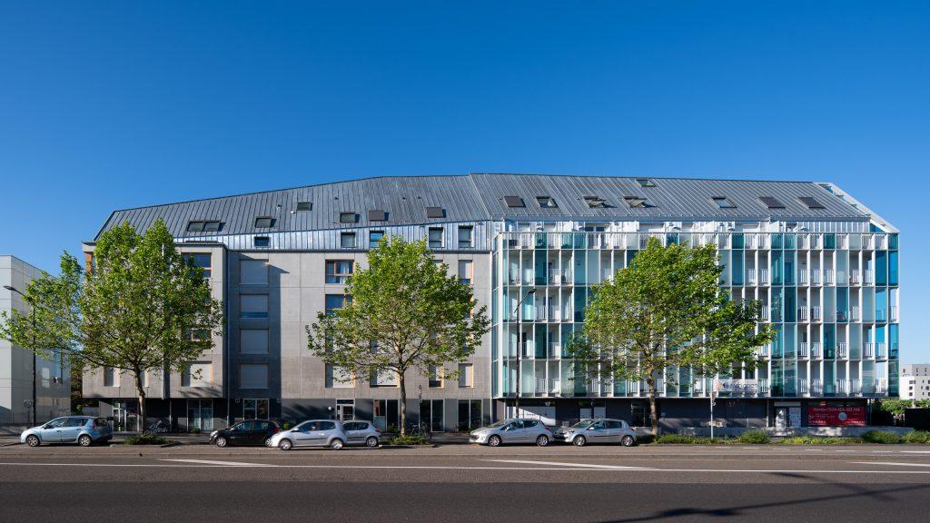 logement rive etoile strasbourg - batiments acollés