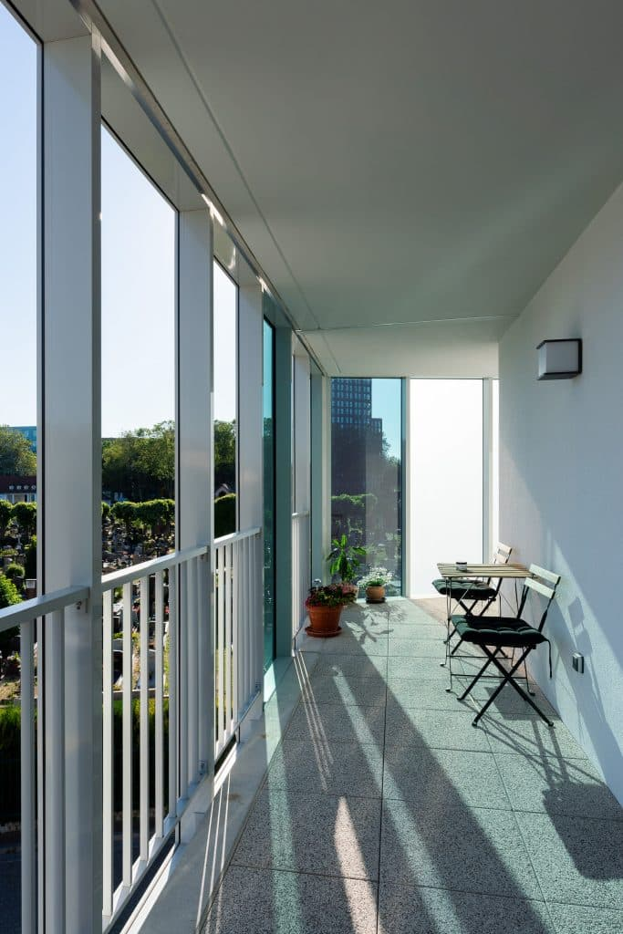 logement rive etoile strasbourg - terrasse