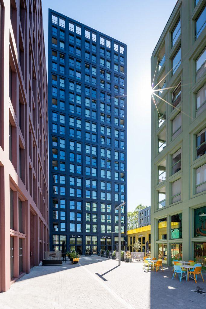 photos architecture strasbourg alsace - tours de couleur